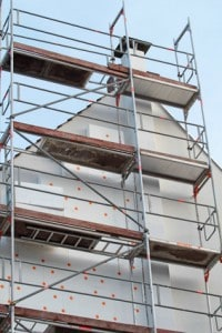 Besserer U-Wert durch Fassadendämmung mit Styropor