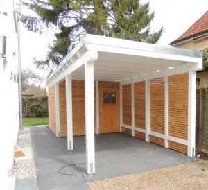 Bau von individuellen Carports