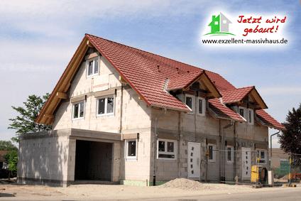 Ihre vorteile beim doppelhaus bauen exzellent massivhaus for Bilder doppelhaus